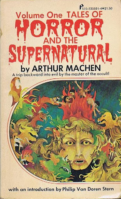 tales of horror and supernatural - arthur machen -  pinnacle books - 1976