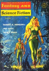 Cover of the first part published, Magazine of Fantasy & Science Fiction, July 1963.