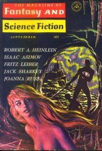 Cover of third and final part published, Magazine of Fantasy & Science Fiction, September 1963.