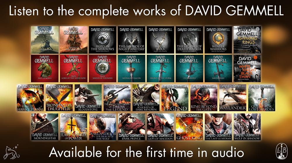 David Gemmell Book Cover Art : News david gemmell audio books sffworld