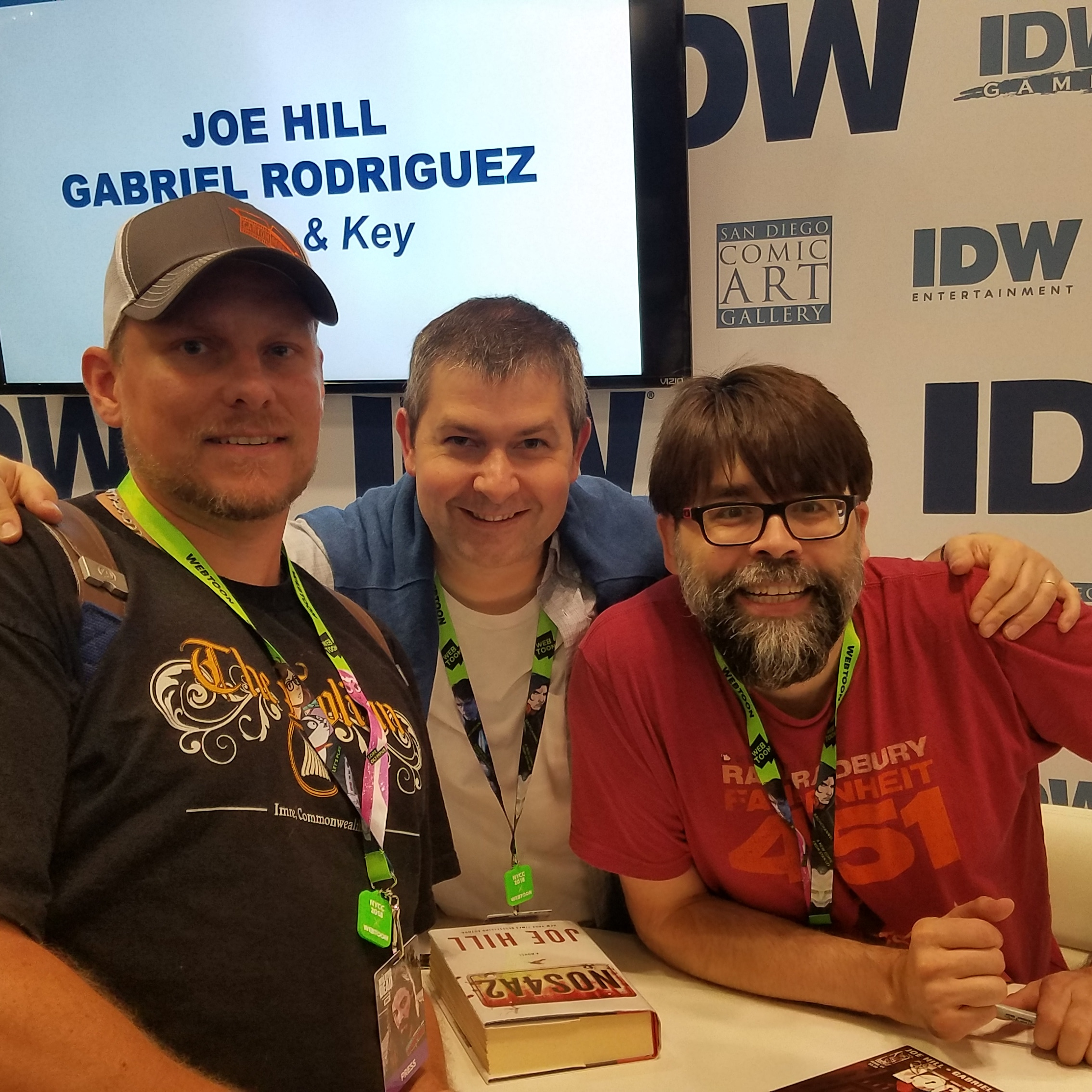 Clever Jeopardy Categories: New York Comic Con 2018 Convention Report